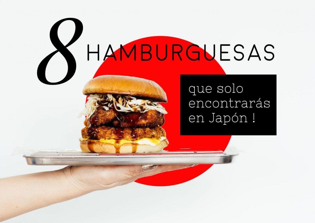 8 hamburguesas con sabor japonés