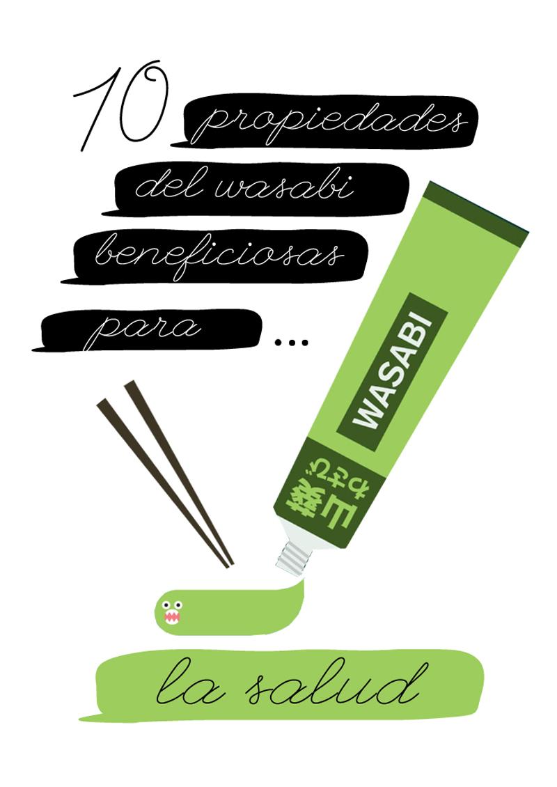 10 poderosos beneficios del wasabi para la salud
