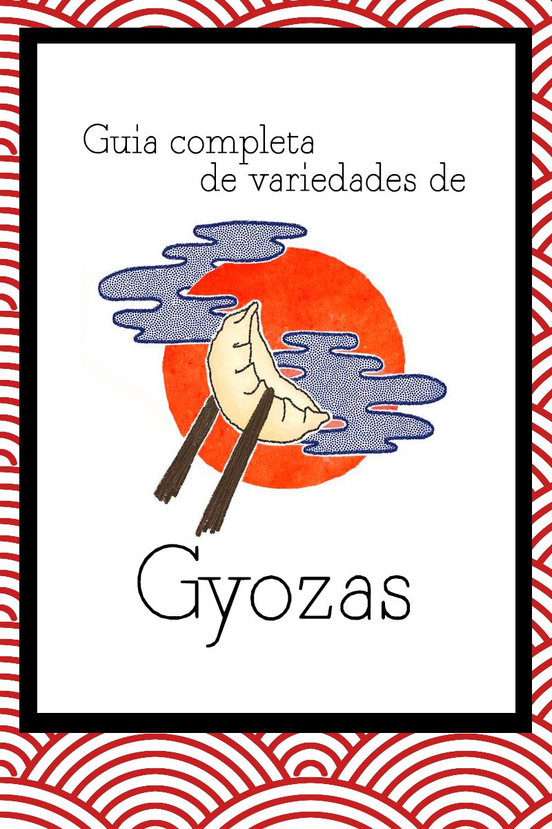 guía completa de variedades de gyoza