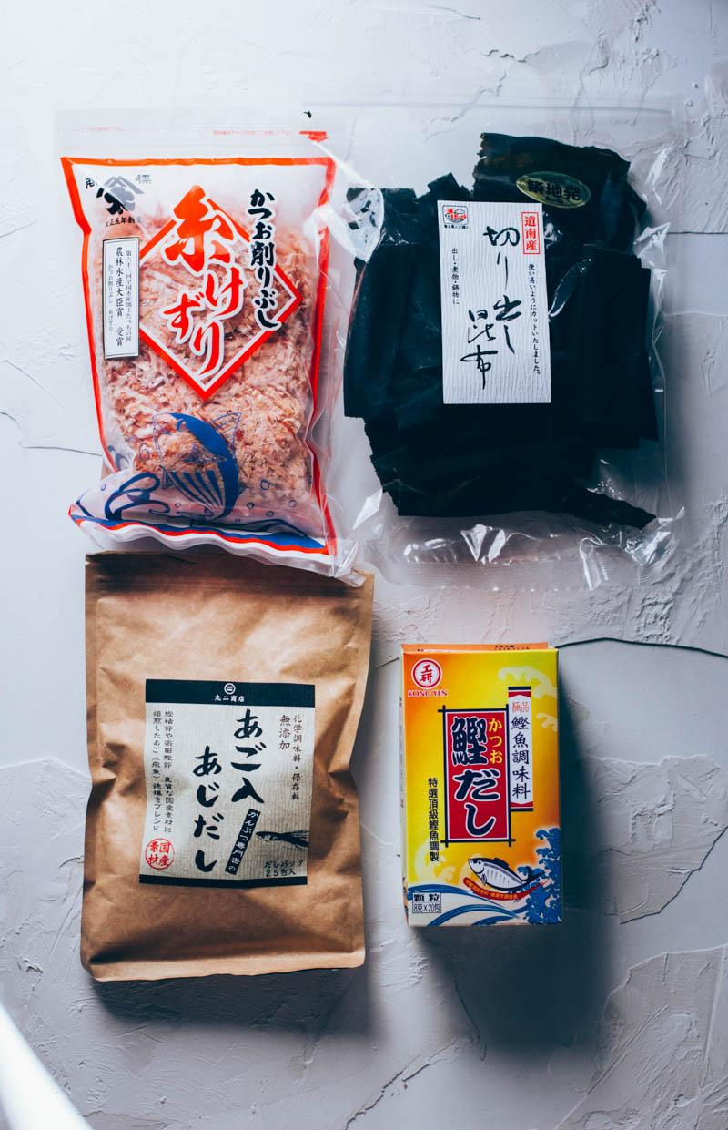 3 formas de preparar caldo dashi