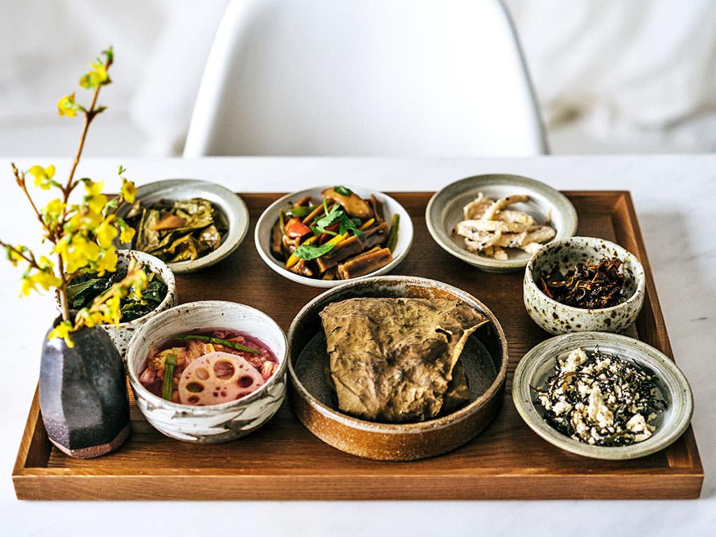 la cocina japonesa budista