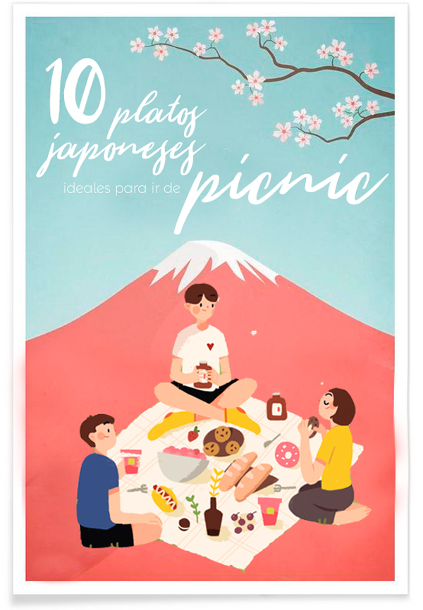 10 platos japoneses para ir de picnic