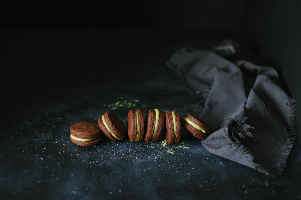 galletas oreo de té matcha