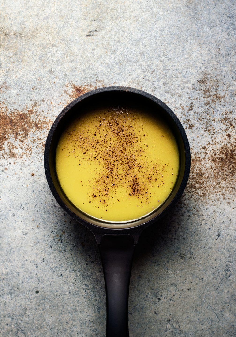 receta de golden tea