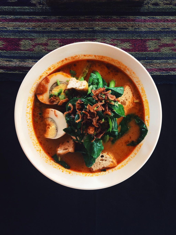 laksa, la deliciosa sopa malay