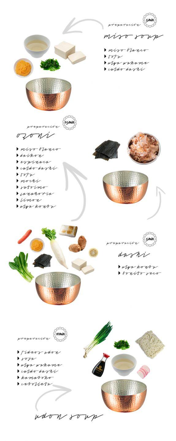 4 sopas japonesas fáciles de preparar