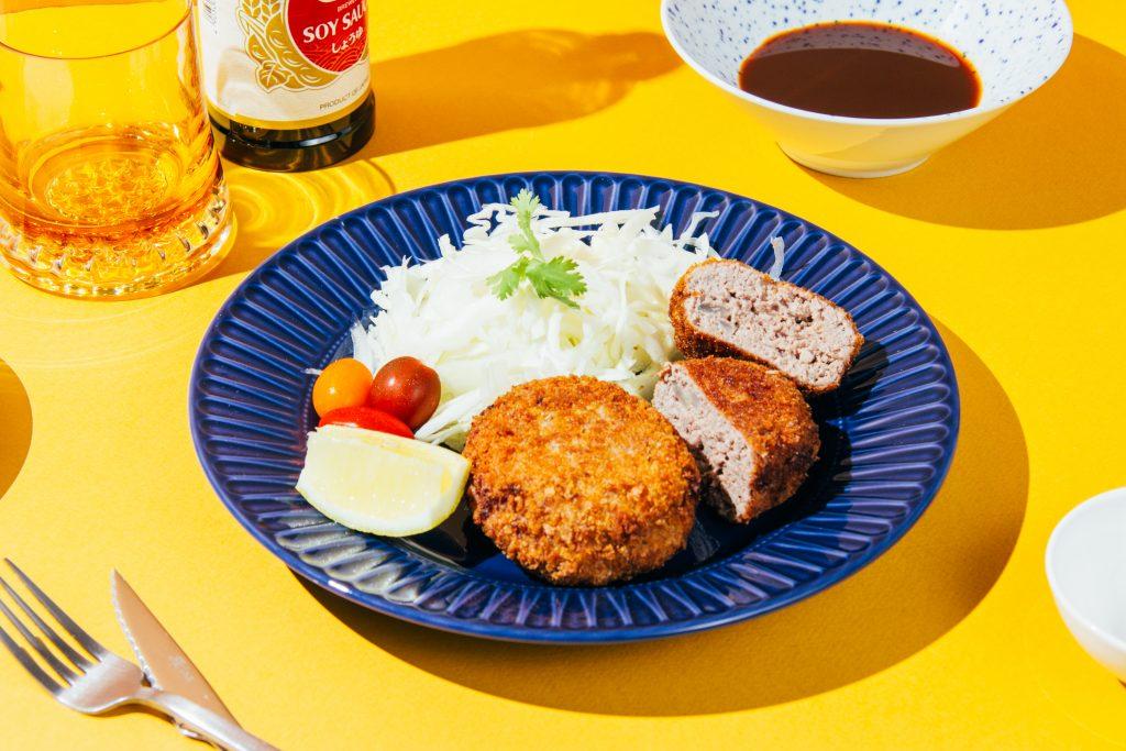 hamburguesa japonesa rebozada