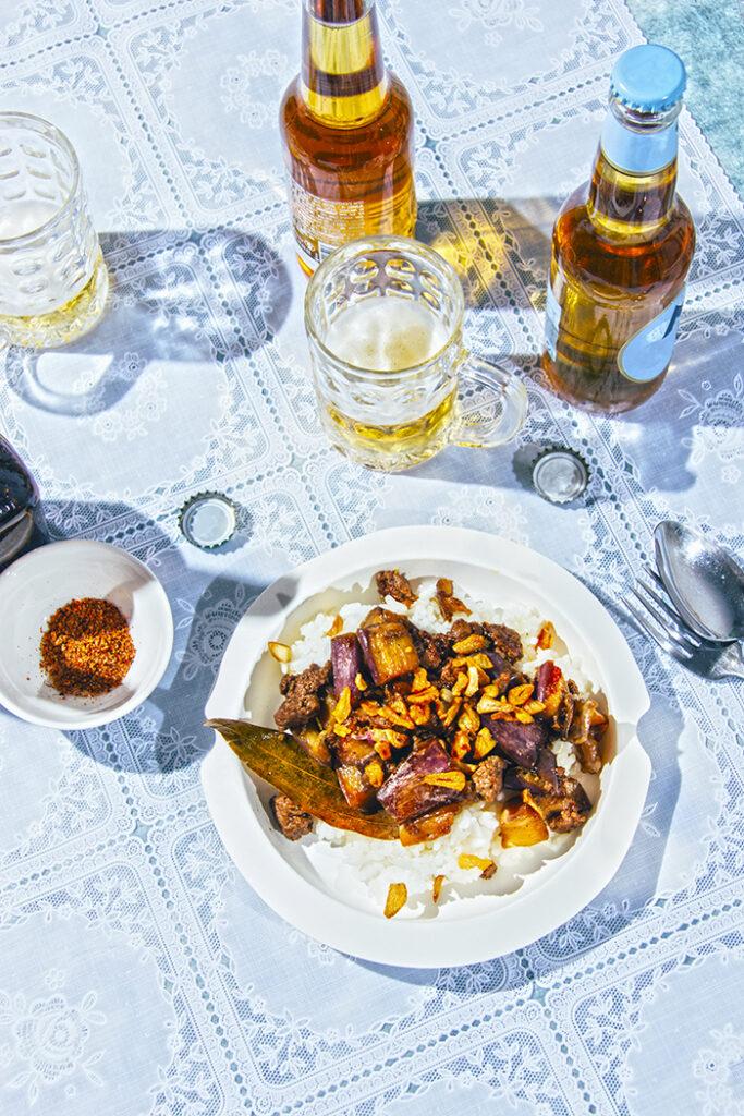 receta de adobo filipino de berenjenas